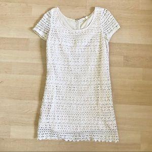 Staring at Stars Crochet Lace Short Sleeve Dress